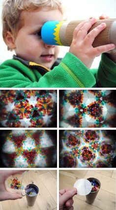DIY Homemade Kaleidoscope
