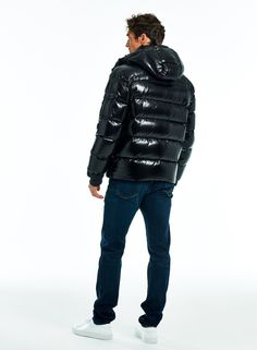 GLACIER | SAM. Cool Jackets, Winter Jackets, Jordan Shoes Girls, Black Down, Puffer Jackets, Human Rights, Beautiful Men, Coat, Moncler