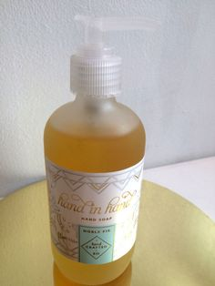 Noble Fir Hand in Hand Holiday Hand Care Soap Refill #HandinHand