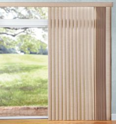 Levolor® Vinyl Vertical Blinds: Plaster