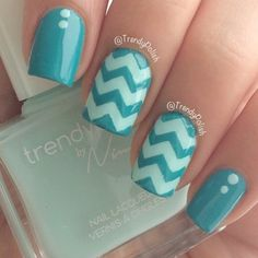 Classic chevron design by the amazing @trendypolish using polishes from her new March Box (lace & hidden). Our Medium Chevron Nail Vinyls & Houndstooth Nail Stencils are included! Check out trendypolish.com for this fantastic offer! - Medium Chevron Nail Vinyls  snailvinyls.com