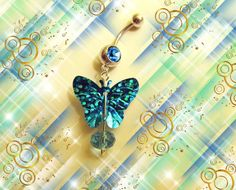 Hey, I found this really awesome Etsy listing at http://www.etsy.com/listing/117063262/sale-belly-ring-aqua-blue-glittery