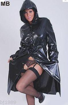 Regenmantel Raincoat Rainwear Impermeable Manteau de pluie PVC -kein Gummi