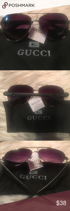 Gucci Fashion Designer Sunglasses Brand new unisex fashion designer Gucci sunglasses comes with a dust bag no case Gucci Accessories Sunglasses