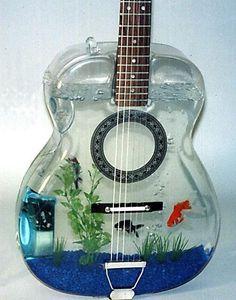 Fish guitar