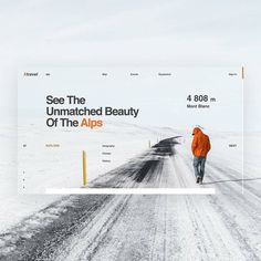 Alps by Larry V. [@design_fucker] . . . Follow us  @creativroom  to get creative UI/UX and Graphic Design inspirations  Use tag - #creativroom - to inspire others  - http://ift.tt/2l4PUPH