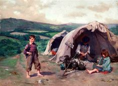 the-tinkers-camp-the-gypsy-encampment.jpg 600×437 piksel