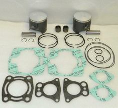 Polaris 300 cc ATV .010 Platinum Piston//Engine Rebuild