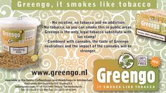 Greengo, it smokes like tobacco. - no nicotine greengo-products.com