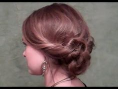Twist and Go! Updo for girls on the go