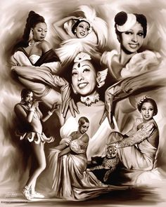 Brown Sugar: Josephine Baker Wishum Gregory Fine Art Print Poster