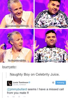 Naughty boy is scared of Louis this is beautiful.>>> aww naughty boy don't be scared... BE TERRIFIED!!