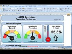 Making an Excel Dashboard - Tutorial #1 Copying Widgets - YouTube