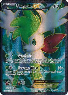 Shaymin-EX - 94/99 - Full Art Ultra Rare - Black & White 4: Next Destinies - Pokemon