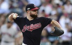 Corey Kluber unflappable in postseason debut