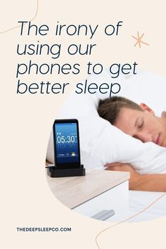 Sleep apps are plentiful but which ones really help, and what of the irony of using something that is proven to hinder sleep to help sleep? #sleep #sleepapp #sleeptechnology #insomnia #phones