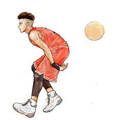 Slam Dunk -Ryota Miyagi Miyagi, Bleach Anime Art, Slam Dunk Manga, Character Art, Character Design, Basketball Anime, Pixel Animation, Popular Anime, Drawing Reference Poses