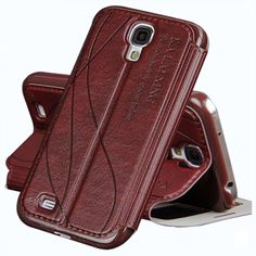 original leather case for samsung galaxy s4 s 4 i9500 / s4 mini i9190 back case luxury simulation leather flip cover phone cases