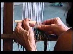 ▶ ▶ How To Construct a Loom and Start Weaving - YouTube