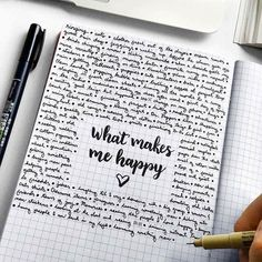 fun way to focus on what makes you happy and record it in your creative journal