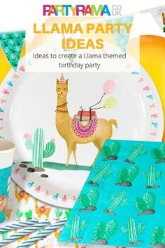 Create a llama themed party for your child's birthday with decorations and tableware from Partyrama. Birthday Supplies, Birthday Party Themes, Unique Party Themes, Party Ideas, Hawiian Party, Pinata Fillers, Hot Wheels Party, Party Giveaways, Wholesale Party Supplies