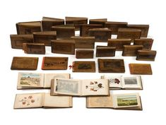 Albums of Pressed Flowers - Extensive Collection of Souvenirs from the Holy Land | kedem Auction House Ltd.
