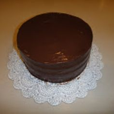 Chocolate Cake with Dobash Frosting