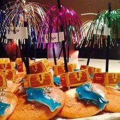 15x zomerse traktaties School Birthday Treats, Diy Birthday, Birthday Parties, Party Treats, Party Snacks, Lego Cake Pops, Pokemon Themed Party, Modeling Chocolate, Pirate Party