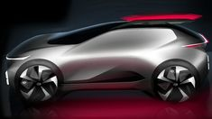 Car Design Sketch, Car Sketch, Futuristic Design, Electric Car, Transportation Design, Sexy Cars, Automotive Design, Motor Car, Concept Cars