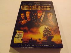 DVD version - Pirates Of The Carribean, Curse Of The Black Pearl