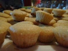 cup cakes mini, antes de transformarse en un ramillete de flores.