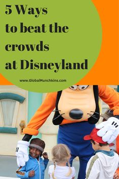 Tips and Tricks from the GlobalMunchkins  pros to help YOU beat the Disney crowds.