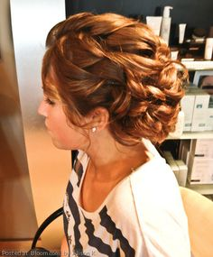 By Alison K. Call Estilo Salon and Day Spa and ask for Alison if you'd like a look like this for your prom, wedding or special occasion. @bloomdotcom