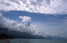 Pogradec (Albania) - Clouds over the bay