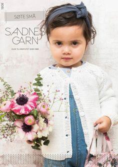 Hefter - Barn - Sandnes Garn Girls Dresses, Flower Girl Dresses, Wedding Dresses, Fashion, Stapler, Threading, Dresses Of Girls, Bride Dresses, Moda