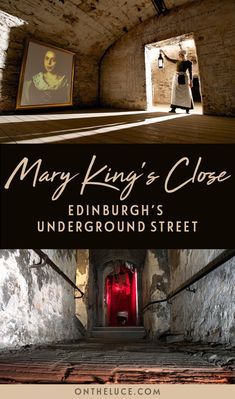 Head underground in Edinburgh's Old Town to discover the lost 17th century streets of the Real Mary King's Close, buried beneath the Royal Mile. #Edinburgh #Scotland #MaryKingsClose