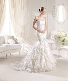 Vestido de novia sirena / Mermaid wedding gown
