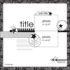 scrapbook layout June 2013 PageMaps Scrapbook Page Sketches for lots of photos Scrapbook Layout Sketches, Scrapbook Blog, Scrapbook Templates, Card Sketches, Scrapbook Paper Crafts, Scrapbook Albums, Scrapbooking Layouts, Scrapbook Cards, Scrapbook Photos