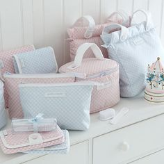 Gingham Baby Accessories - Cologne & Cotton
