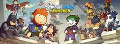 Scribblenauts Unmasked - A DC Comics Adventure coming September 24, 2013! #Scribblenauts #ScribblenautsUnmasked #DCComics