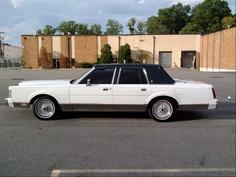 1988 Lincoln Town Car.
