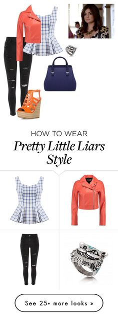 """Aria Montgomery"" by junebug24-1 on Polyvore featuring River Island and T By Alexander Wang"