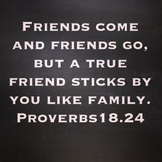 I have some True friends & I'm thanking God for you right now! ;)