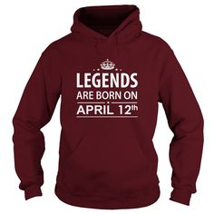 Birthday april 12 copy birthdays legends shirts hoodie shirt vneck shirt sweat shirt for womens and men ,birthday, queens i love my husband ,wife birthday april 12 copy-love - Tshirt