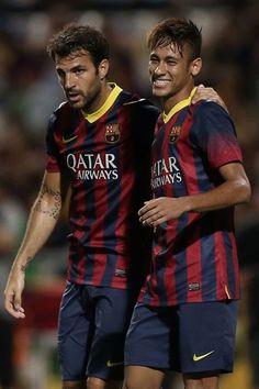 Fabregas & Neymar