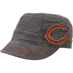 '47 Brand Chicago Bears Ladies Dover Adjustable Military Hat - Gray