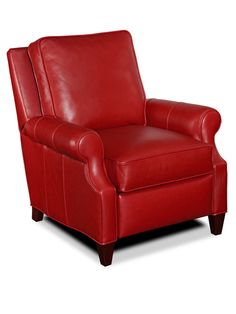 Lazy Boy Sofa Bradington Young red leather recliner