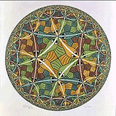M. C. Escher - Wikipedia, the free encyclopedia  I am so intrigued with this one