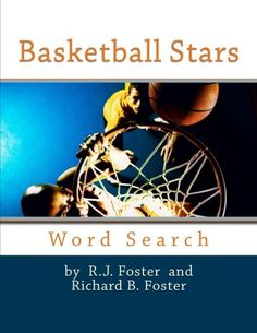 x w/Glossy Cover Finish) Basketball Stars: Large… Basketball Books, Love And Basketball, Activity Games, Book Activities, Date, Barnes And Noble Books, Puzzle Books, Large Prints, The Fosters