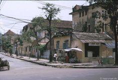 Vieux quartier dans les années 90 à Hanoi Vietnam (Photo : Hpgrumpe.de)